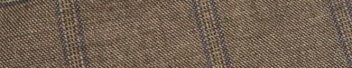 【Ej1w036】ブラウン+6×5cmネイビー・織りチェック