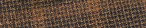 【Ej1w039】ネイビー×オレンジハウンドトゥース+6×5cmオレンジチェック