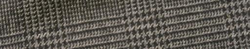 【Ej1w057】グレー・黒・オフホワイト6×5cmグレンチェック