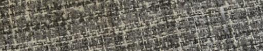 【Ej1w092】グレーミックス+3×2.6cmオフホワイトチェック