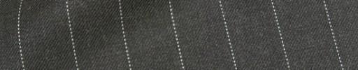 【Hre_1w25】チャコールグレー+1.7cm巾ストライプ