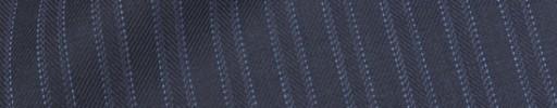 【Hre_1w26】ネイビー柄+6ミリ巾織り・ライトブルーストライプ