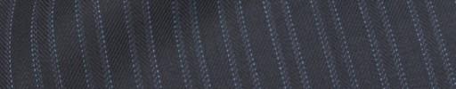 【Hre_1w28】ダークネイビー柄+6ミリ巾織り・ライトブルーストライプ